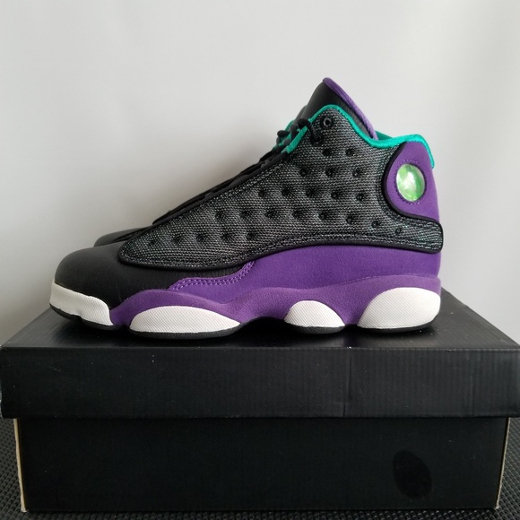 Jordan Retro 3 Black Purple Teal